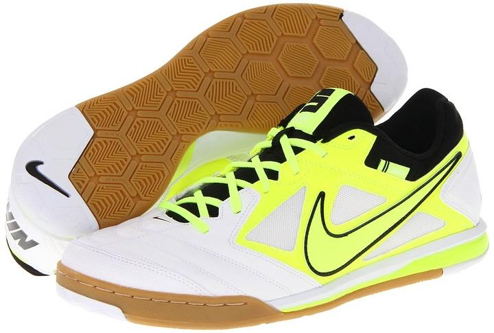 Nike Nike5 Gato (White/Volt/Black/Volt) - Footwear