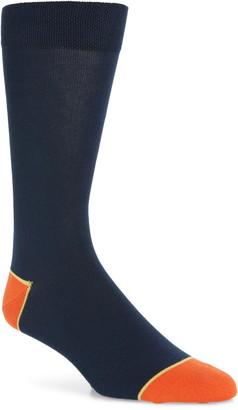 Ted Baker Contrast Heel & Toe Socks