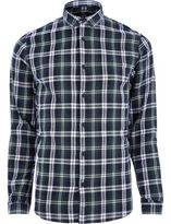 River Island MensGreen Only & Sons casual check shirt
