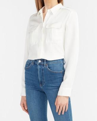 Express Button-Up Military Shirt