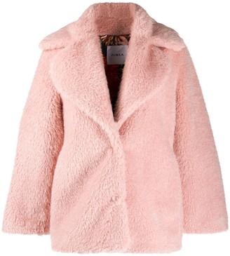 Ainea Oversized Faux-Fur Jacket