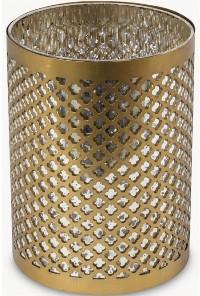 Sue Parkinson Home Collection - Sunningdale Etched Lantern - Medium - Gold