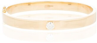 Anita Ko 18kt yellow gold Oval diamond bracelet