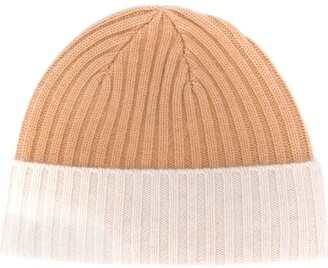 N.Peal Ribbed Knit Hat