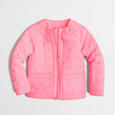 J.Crew Factory Factory girls' quilted puffer jacket