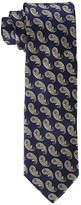 Eton Pine Paisley Tie (Navy) Ties