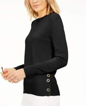 Michael Kors Michael Snap-Hem Sweater