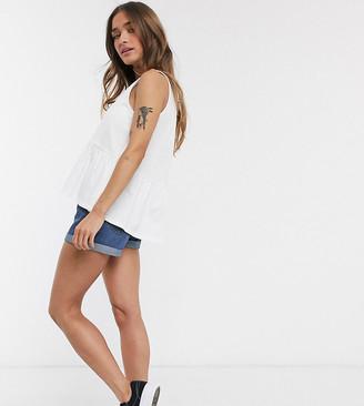 ASOS DESIGN Petite sleeveless casual smock top