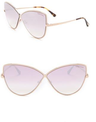 Tom Ford Elise 65mm Cat Eye Sunglasses