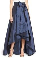 Adrianna Papell Women's High/low Taffeta Ball Skirt