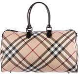 Burberry Supernova Check Weekender