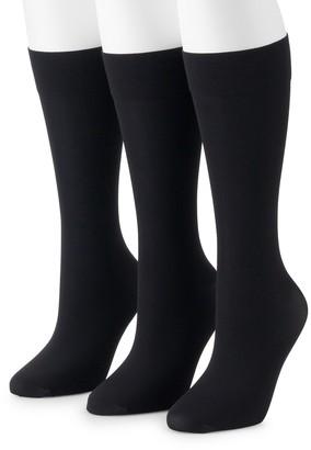 Gold Toe Women's GOLDTOE 3-Pack Trouser Dress Socks