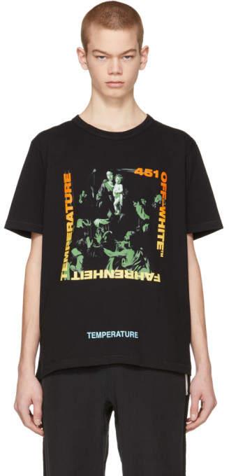 Off-White Black Gradient Caravaggio Slim T-Shirt