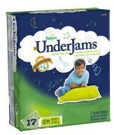 Pampers Boys' Under Jams 17-pk. - S/M