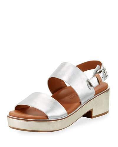 Gentle Souls Talia Flatform City Sandals, Gold