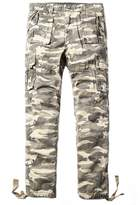 OCHENTA Men's 100% Cotton Outdoors Camouflage Cargo Military Pants