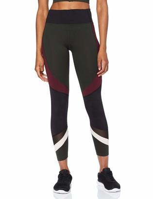 Amazon Brand - AURIQUE Women's Panelled Sports Leggings