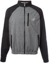 Versace draped back bomber jacket - men - Polyamide/Polyester/Spandex/Elastane/Cotton - 3