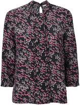 L'Autre Chose patterned blouse - women - Silk - 40