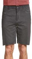 John Varvatos Men's Raw Hem Walking Shorts