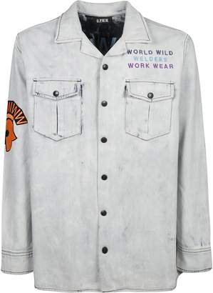 U.P.W.W. Snap Front Bleached Work Shirt