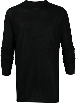 Rick Owens Knitted Long Sleeve Top