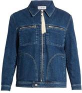 Loewe Zip-through Denim Jacket