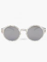 Mykita X Maison Martin Margiela Silver MMTRANSFER003 Sunglasses