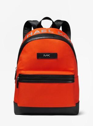 Michael Kors Logo Woven Backpack