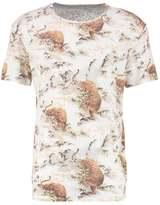 AllSaints TIAGAA Print Tshirt chalk white