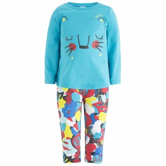 Tuc Tuc Girl's Camiseta+Leggings Punto Nina Clothing Set Black (Negro 30) 6 Years (Size: 6A)