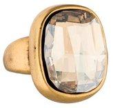 Oscar de la Renta Crystal Cocktail Ring