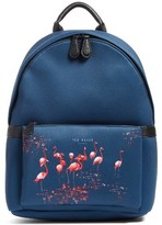 Ted Baker Men's Print Backpack - Blue