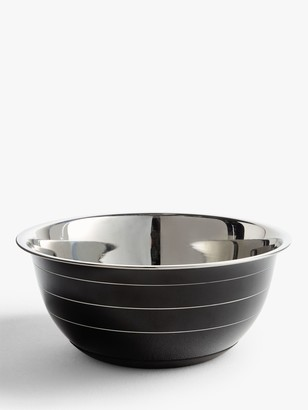 John Lewis & Partners Professional Stainless Steel Accent Mixing Bowl