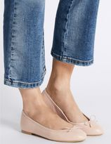 Marks and Spencer Leather Ballerina Pump Shoes