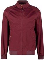 Ben Sherman Harrington Summer Jacket Burnt Red