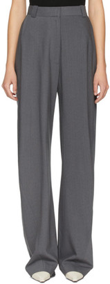 Eftychia Grey Grandpa Worn Trousers