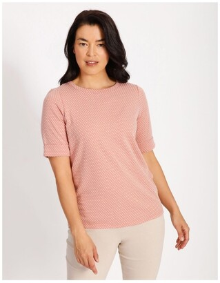 Regatta Tee With Cuff Dusty