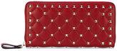 Valentino Garavani Valentino Rockstud Spike wallet - women - Calf Leather/metal - One Size