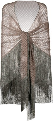 Missoni Fringed Sheer Scarf