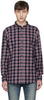 Tiger of Sweden Navy Check Mellow Shirt