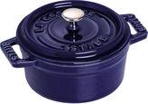 Staub 7 Qt Round Cocotte, Dark Blue