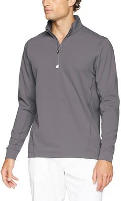 Cutter & Buck Men's Moisture Wicking Drytec UPF 50+ Traverse Half Zip Pullover