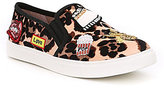 Betsey Johnson Coopers Emoji Inspired Embroidered Sneakers