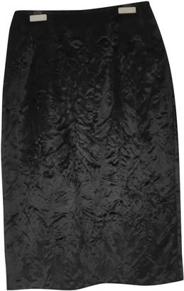 Max & Co. Black Cotton Skirt for Women
