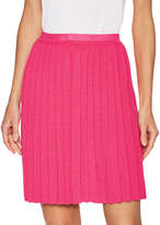 Carolina Herrera Women's Wool Pleated Skirt