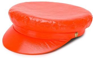 Manokhi vinyl biker hat
