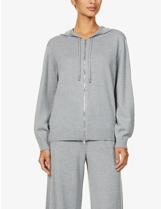 Johnstons Marla zipped wool hoody