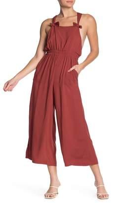 Crimson in Grace Challis Wide Leg Overall Jumpsuit