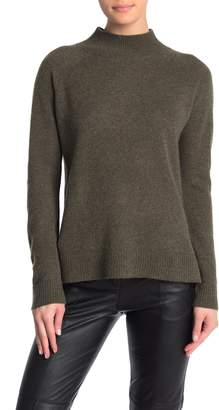 Magaschoni M Mock Neck Cashmere Pullover
